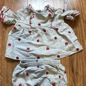Janie and Jack Rose 🌹 Outfit